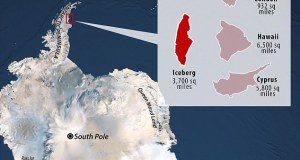 iceberg  Concern as massive iceberg breaks loose from Antarctica iceberg