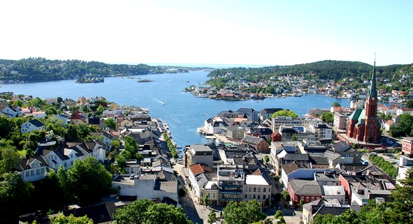Arendal  Norwegian town becomes climate neutral Arendal