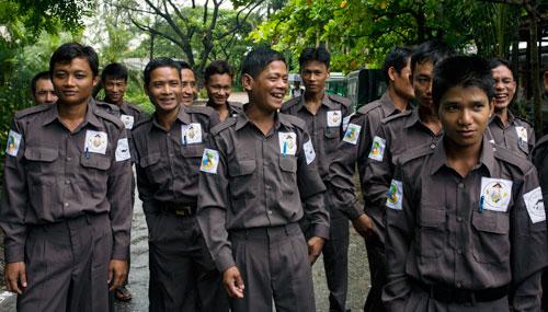 WWF elephant rangers  World Elephant Day: WWF moves to tackle Myanmar poaching crisis Rangers 1