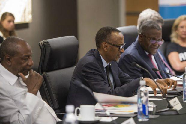 Aliko Dangote-Paul Kagame