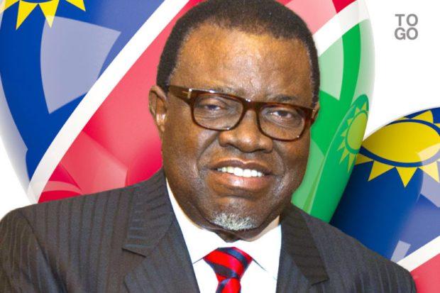 Hage Geingob  Namibia imposes levies on imports of plastic bags, batteries Hage Geingob e1504900596802