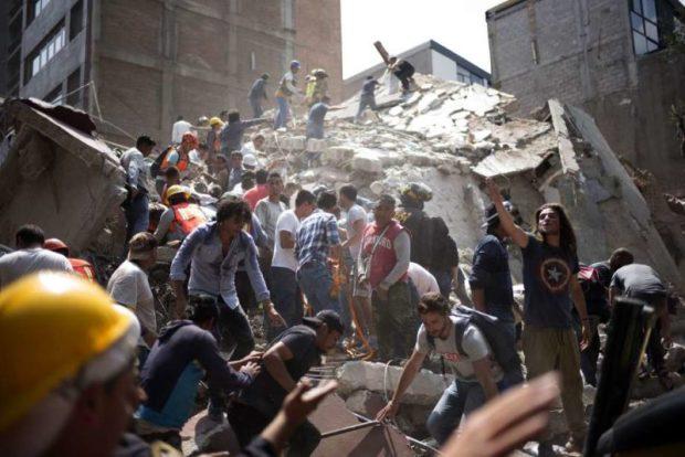 Mexico  Dozens dead in powerful Mexico quake Mexico 1 e1505860648312