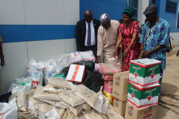 NBMA  Biosafety agency donates relief materials to victims of terror attacks IMG 20171012 WA0022 e1507906409865