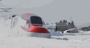 snow storm train  600 people trapped on train during massive winter storm in Japan Japan e1515769194231