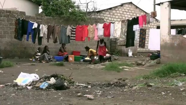 Lusaka slum  Cholera: Passport offices closed as Namibia bans food imports from Zambia Lusaka slum e1515429781907