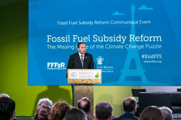 fossil fuels subsidy