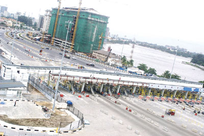 Lekki Road toll plaza  Mixed reactions trail increase in tolls on Lekki-Ajah Road, Ikoyi Link Bridge TOLL GATE LEKKI EPE