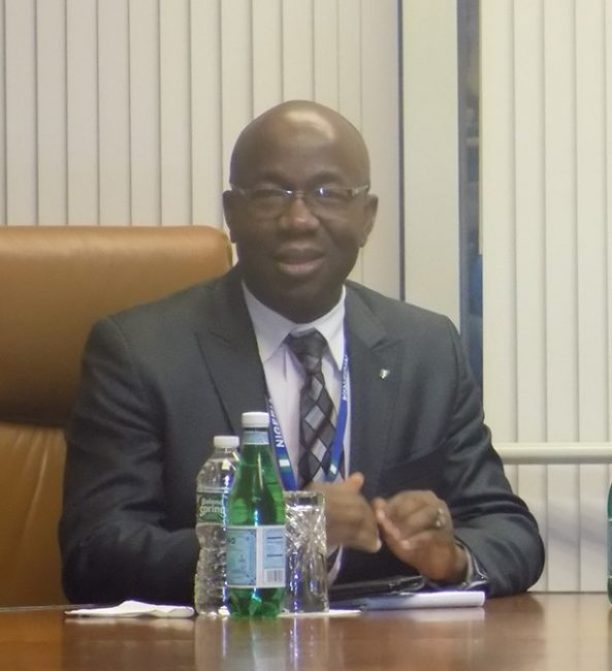 Amb. Samson Itegboje  Nigeria said to be making remarkable effort to eradicate water scarcity Amb