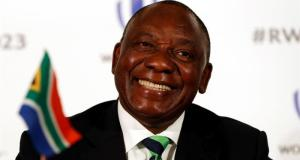 President Cyril Ramaphosa of South Africa