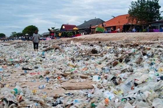 Plastic waste Indonesia