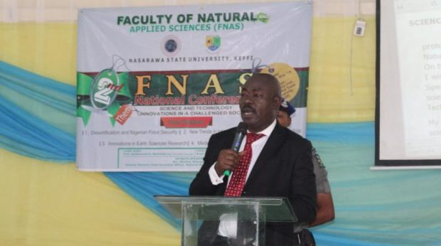 Rufus Ebegba biosafety  Biosafety agency boss calls for investment in science, technology Ebegba e1527520129891
