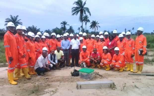 Hyprep  HYPREP trains 35 youths for Ogoni clean-up Hyprep e1527692813977