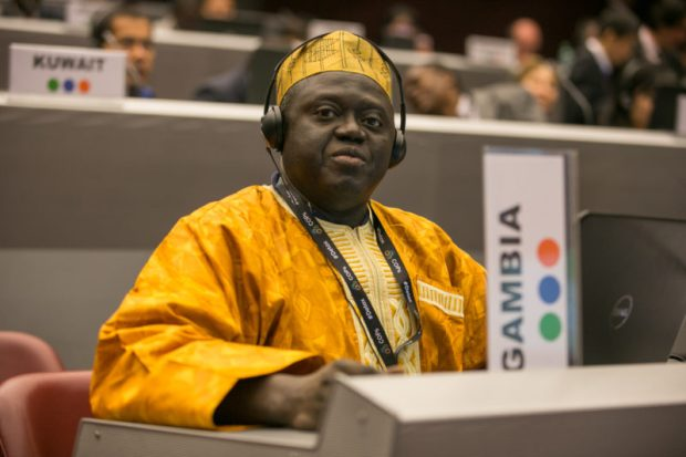 Momodou Jaama Suwareh  Gambian agency warns against dumping domestic waste in rain run-offs Momodou Jaama Suwareh e1526647995127