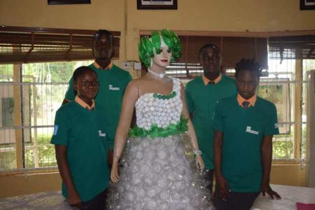 Plastics dress