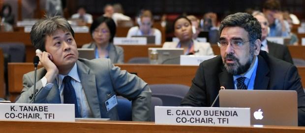 Kiyoto Tanabe and Eduardo Calvo Buendia  IPCC fixes date for commencement of draft methodology report's review Kiyoto Tanabe and Eduardo Calvo Buendia 1024x450