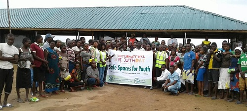 International Youth Day   CSDevNet, GERI advocate safe spaces for youths at Benue IDP camp IMG 20180819 162347