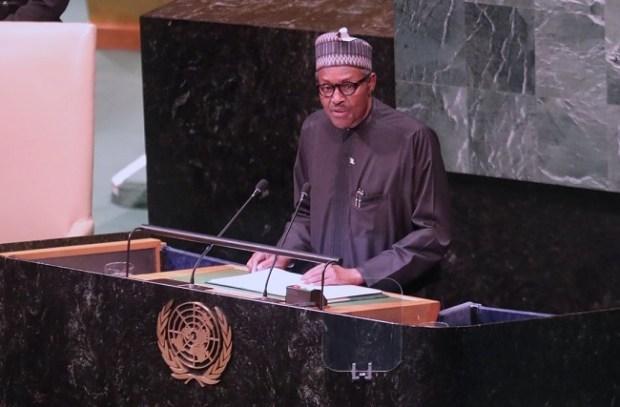 Buhari UNGA 2018