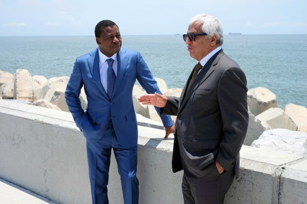 Faure Essozimna Gnassingbe and Ronald Chagoury