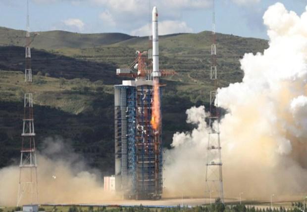 HY-1C satellite  China launches new marine satellite for monitoring climate change HY 1C satellite