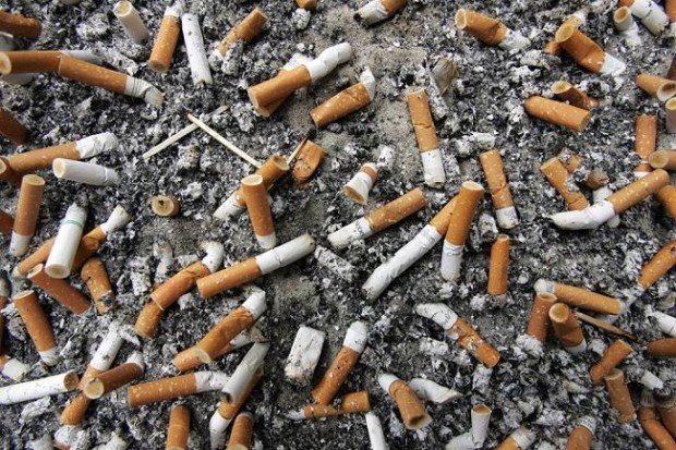 Cigarette butts  4.5tr cigarette butts thrown away yearly – Studies cigarette butts