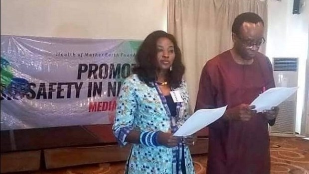 Nnimmo Bassey / Mariann Bassey-Orovwuje  GMOs: Groups commit to increased awareness, frown at regulatory process FB IMG 1538139508229