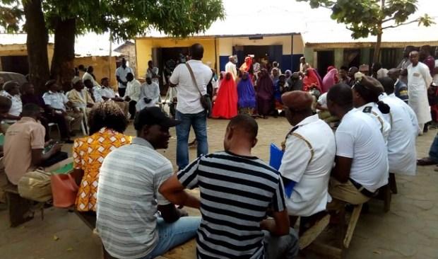 Dei Dei community  Environmental health officers sensitise Nigerians on hygiene Community