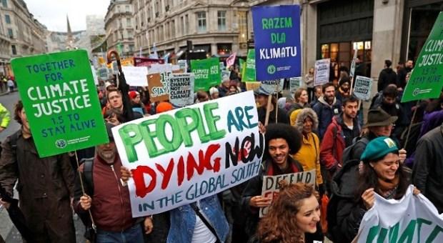 COP24 climate protest