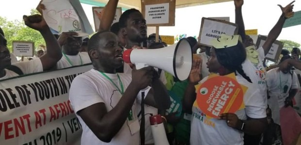 Environmental activists  Activists decry 'more empty words' at Africa Climate Week Environmental activists