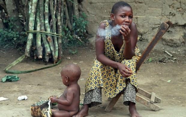 Female smoker