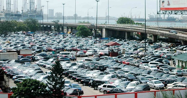 Lagos Marina car park