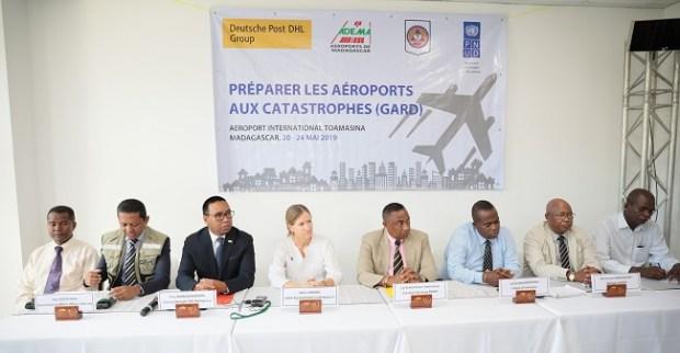 DHL, UNDP, OCHA Madagascar disaster preparedness  DHL, UNDP, OCHA boost natural disaster preparedness in Madagascar pic 1