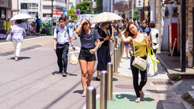 Heatwave Japan
