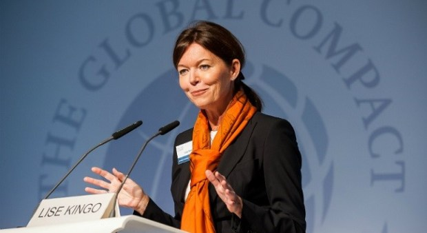 Lise Kingo  28 firms step up to new level of climate ambition Lise Kingo 1