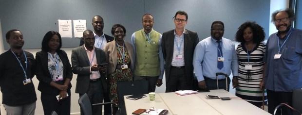 African Group of Negotiators  African negotiators to UN Summit: Climate change receiving continent's priority attention African Group of Negotiators
