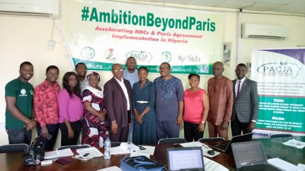 CSDevNet/PACJA FGD  Climate change: Stakeholders commend Nigeria's mitigation, adaptation efforts IMG 20190913 WA0004
