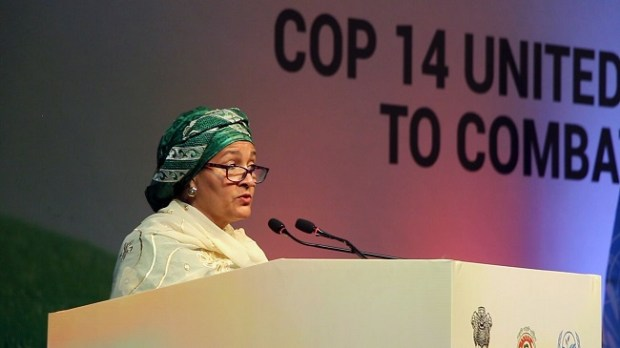 Amina Muhammed  UN calls for partnerships to speed up action on land degradation Mohammed