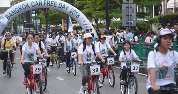 Bangkok Car Free Day