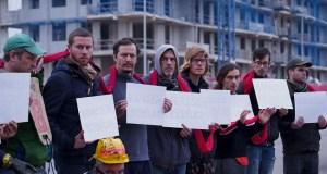 Anti-REPSOL protesters