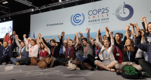 Climate strikers