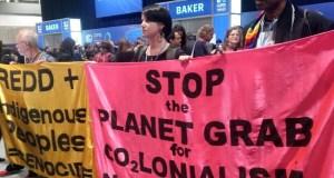 COP25 protest