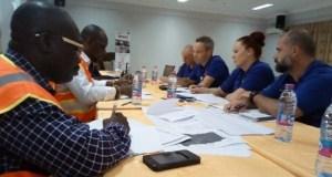 Disaster response mockup exercise