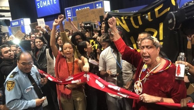 Climate protesters  15 debarged as extraordinary protest rocks COP25 Protest