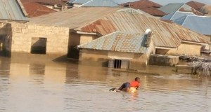 Flood in Niger State  Mitigating devastating effects of flooding via Annual Flood Outlook Flood in Niger State
