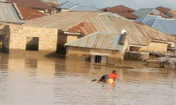 Flood in Niger State  Mitigating devastating effects of flooding via Annual Flood Outlook Flood in Niger State