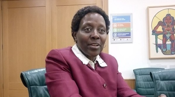 Elizabeth Maruma Mrema  Our expectations from post-2020 biodiversity negotiations, by CBD IMG 20200224 181509