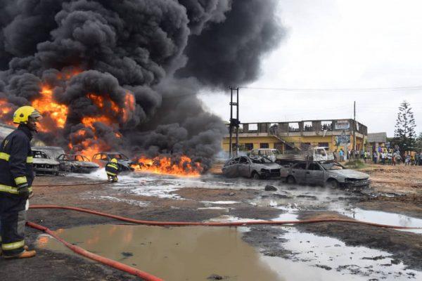 Lagos pipeline explosion  Govt asked to investigate 'suspiciously different' Lagos explosion pipeline vandalism