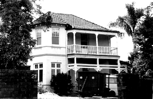 21 Church Street, Pymble; by: Robert Moore, Penelope Pike, Helen Proudfoot
