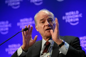Henry Kravis at the World Economic Forum, 2009.