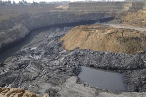 A coal mine in India.