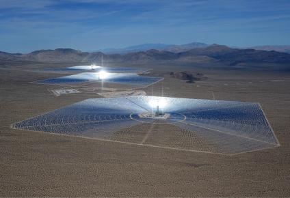 Mojave Solar Plant Killing Birds in Mid-Air
